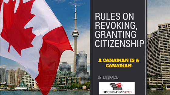 rules on revoking, granting citizenship