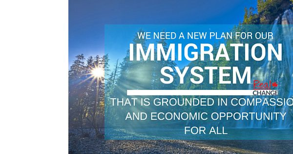 A NEW PLAN FOR CANADIAN IMMIGRATION AND ECONOMIC OPPORTUNITY