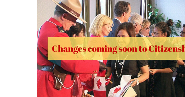 Changes coming soon to Citizenship