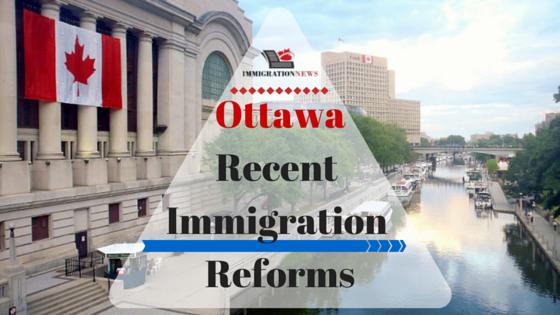 Ottawa immigration reforms