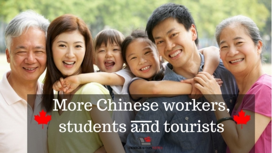 Canada wants more Chinese workers, students and tourists, says immigration minister