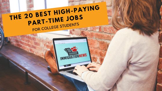 The 20 Best High Paying Part Time Jobs For College Students