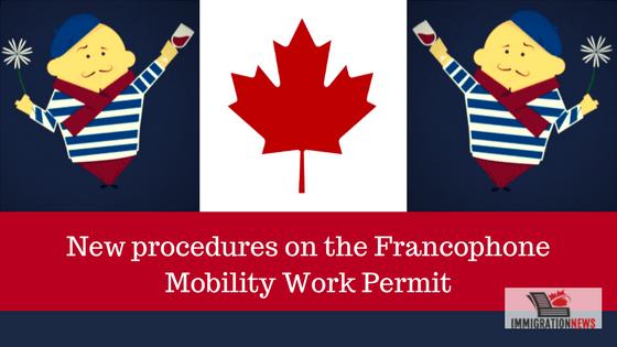 Francophone Mobility Work Permit