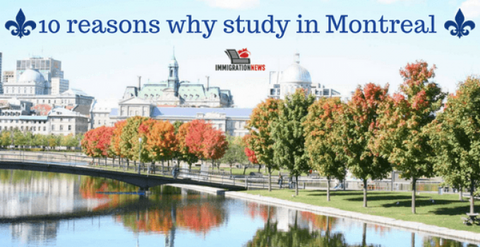 10 reasons why go to Montreal as a future international student in Canada