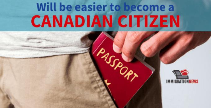 Canadian Citizenship change