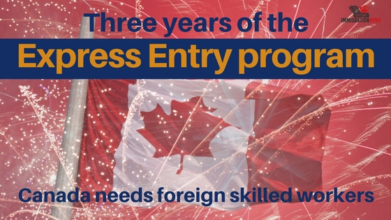 Three years of the Express Entry program: Canada needs