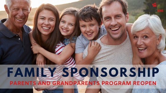 Parents and Grandparents Program will reopen on January 28, 2019